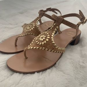 Jack Rogers 8.5 small heeled cork sandal